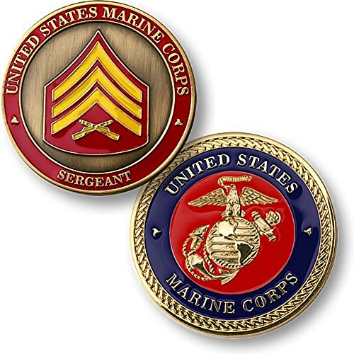 Challenge Coin Corps (U.S. Marine Corps Sergeant Challenge Coin)