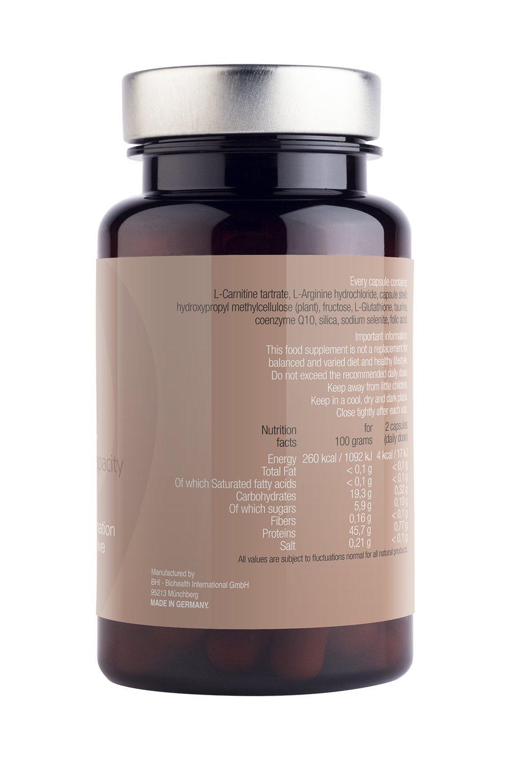 Ayuda masculina fértil con L-glutatión, taurina, coenzima Q10, sílice, selenita de sodio, ácido fólico. Hombres Reproductivos de ayuda y ...