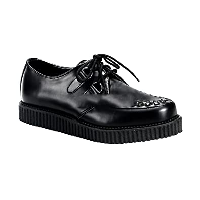 Demonia Creeper-602 - Gothic Punk Industrial Creeper Schuhe 36-46, US-Herren:EU-37 (US-M5)