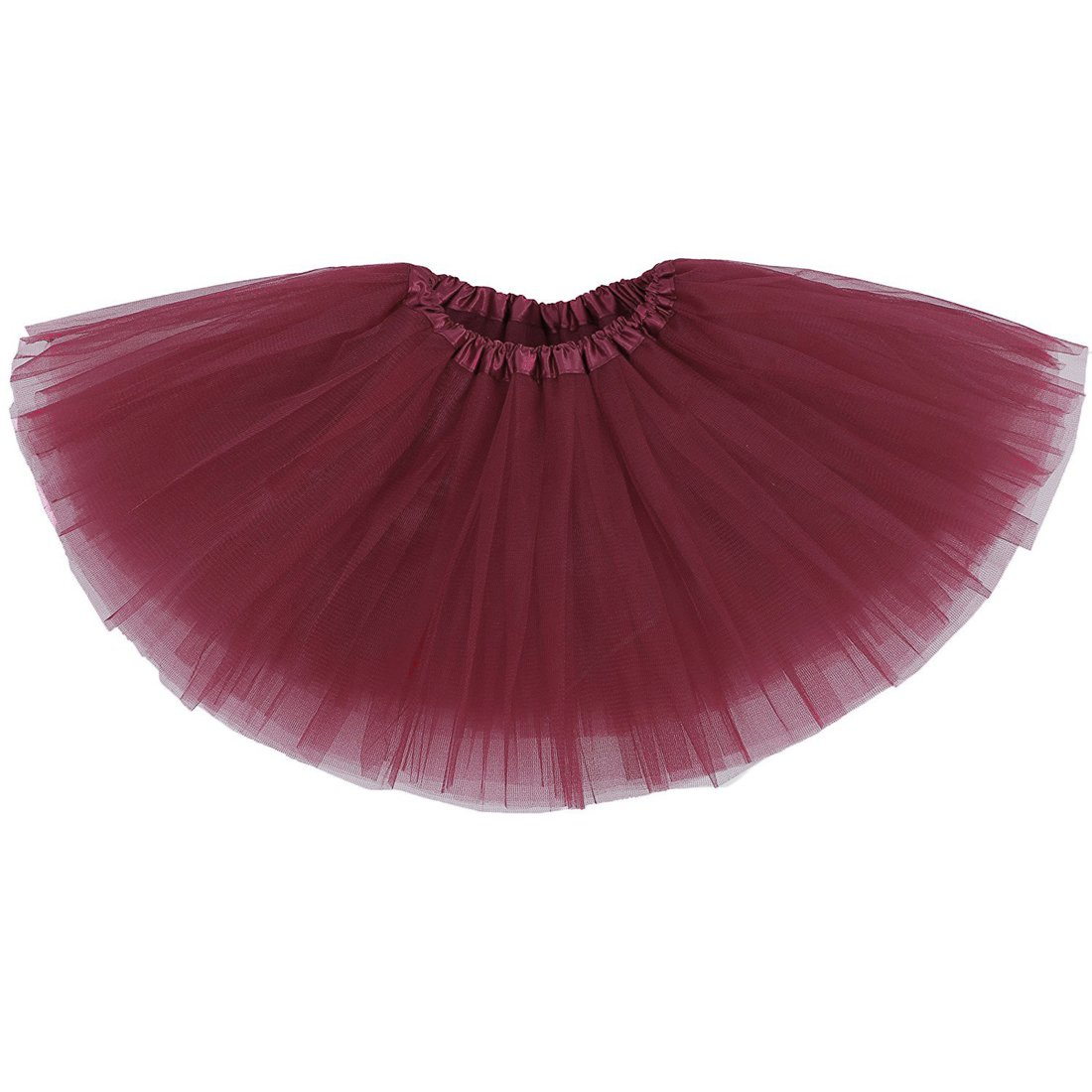Honey Qiao Baby Girl's Tutu Tulle Layers Skirts ( 6 M to 8 T )