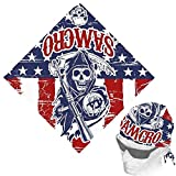 sons of anarchy merchandise hats - Sons of Anarchy Bandana (Standard)- Red/ Blue