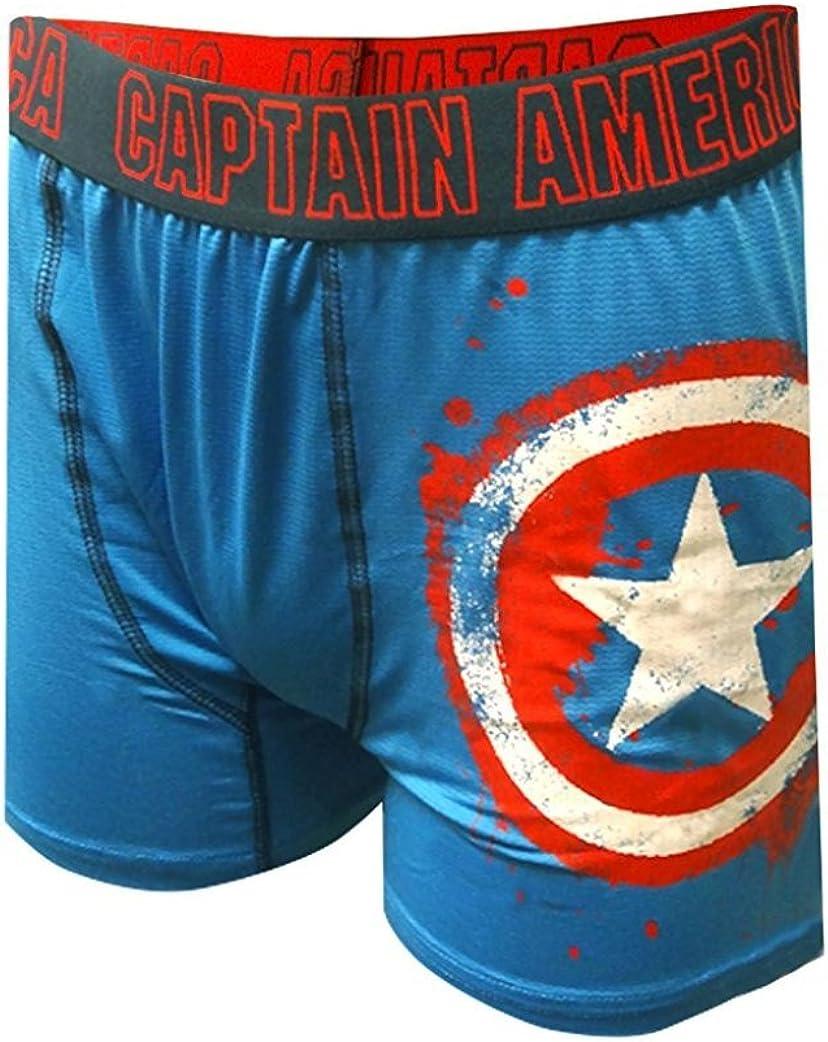 Marvel Comics Avengers Captain America Boxer Briefs
