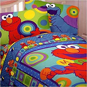 amazon com seasame street circle me elmo comforter full 11507 | 61xmhbslwrl sy300 ql70