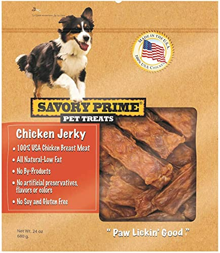 Savory Prime 373 Usa Natural Chicken Jerky Dog Treat