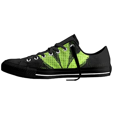 Special Leaf Weed Plant Unisex Comfort Nonslip Board Low Top Shoes 37