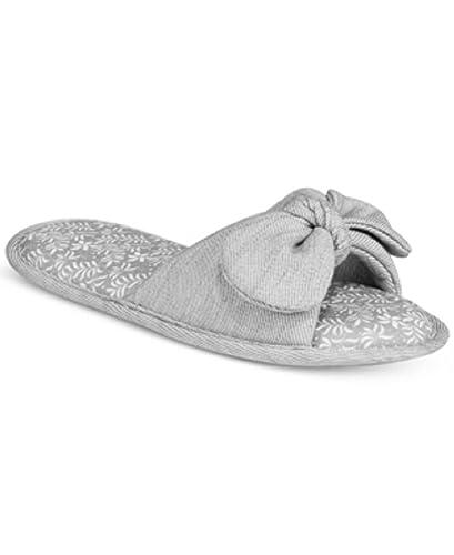 a2f3a902511b Charter Club Women s Open-Toe Bow Memory Foam Fashion Slippers (X-Large)