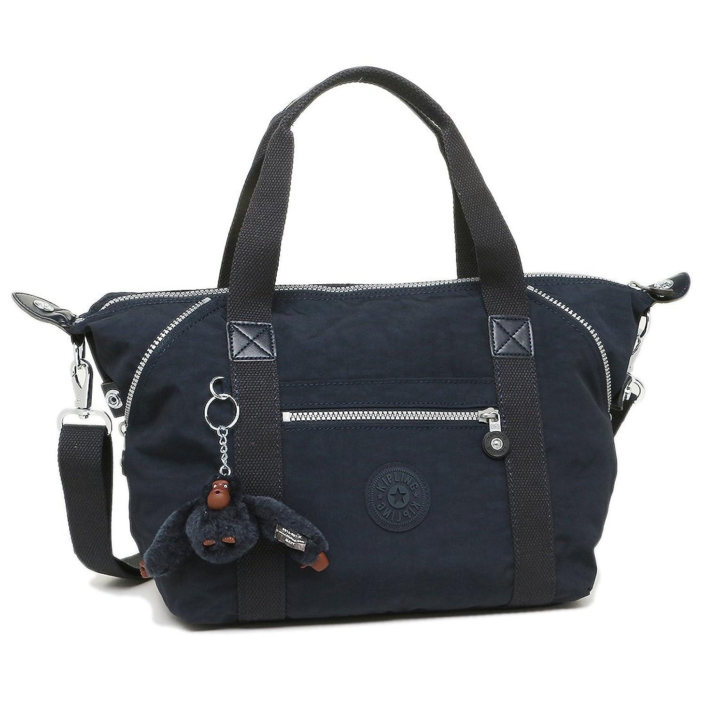 キプリング バッグ KIPLING K10065 511 ART S レディース トートバッグ 無地 TRUE BLUE 紺 [並行輸入品] B076J2QBWW