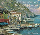 #5: Thomas Kinkade Painting on Location 2019 Deluxe Wall Calendar: The Plein Air Collection