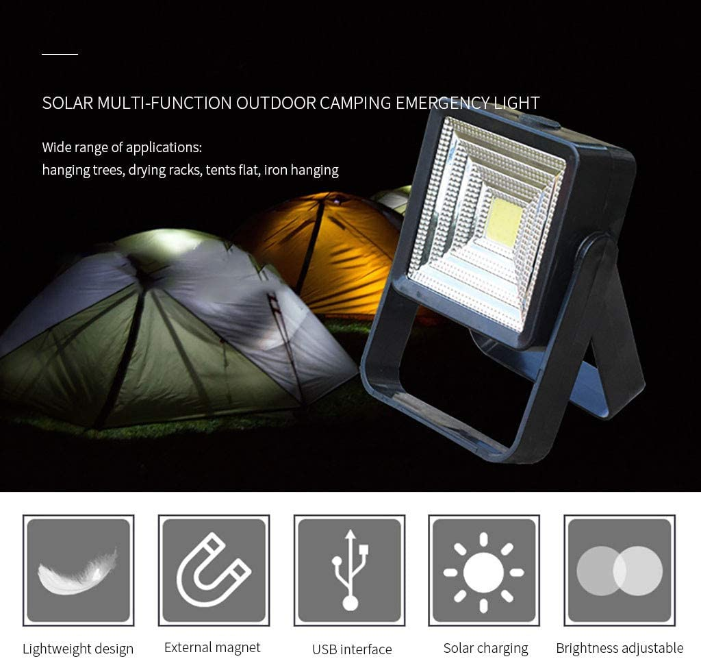 Tragbares Outdoor-Notfall-Camping-LED-Arbeitsnachtlicht f/ür Stromausf/ällen Wandern Notfall Ausf/älle FENSIN Campinglampe led