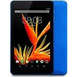 Alldaymall Tablet 7 pollici 16GB (IPS FHD 1920x1200, Processore 64-Bit Quad Core, RAM 1GB, Android 5.1, Wi-Fi, Bluetooth) Blu - 2017 Tutte Nuove