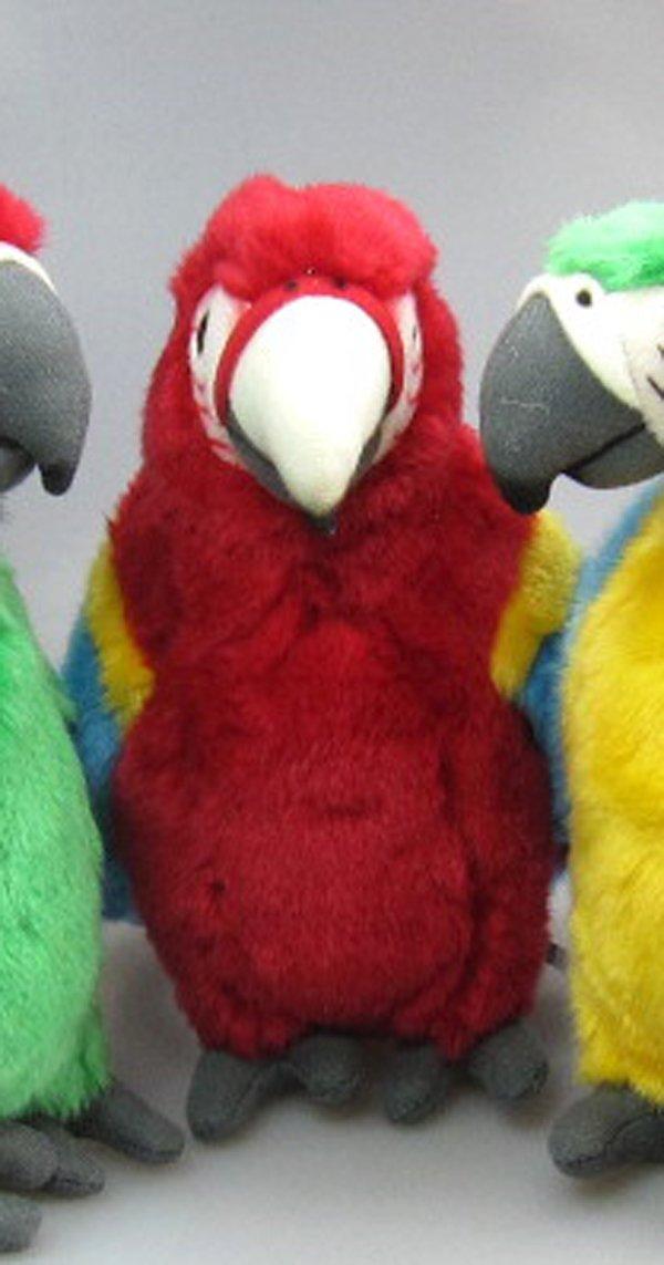 Rojo oscuro ara loro rojo * insg. 45 cm * Peluche Papagayo: Amazon.es: Juguetes y juegos