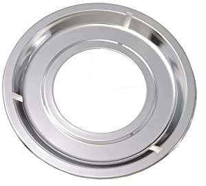 Frigidaire 5303131115 Range Drip Pan Genuine Original Equipment Manufacturer (OEM) Part Chrome