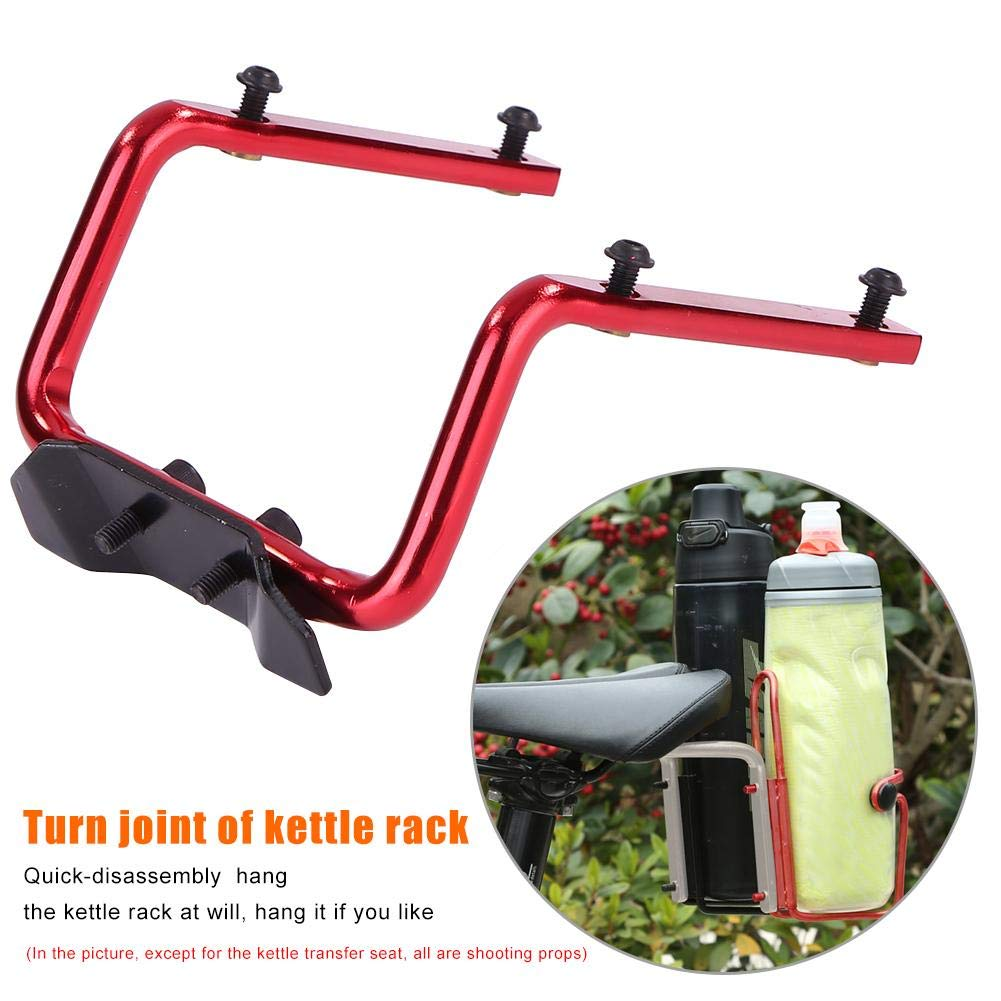Bicycle Bike Water Bottle Cage Holder Switch Saddle Cycling Seat Adapter