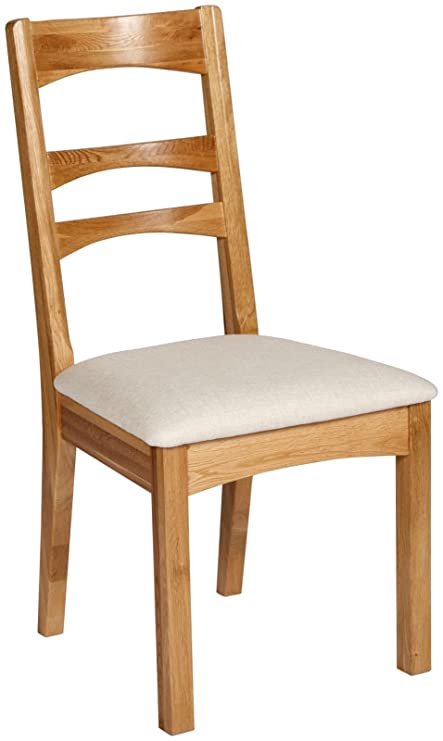 new style 354f5 20e90 PAIR OF ALTO SOLID LIGHT OAK DINING CHAIRS WITH PADDED ...