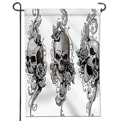 Amazoncom Mikihome Garden Flag Tattoo Artist Angel Inspired With