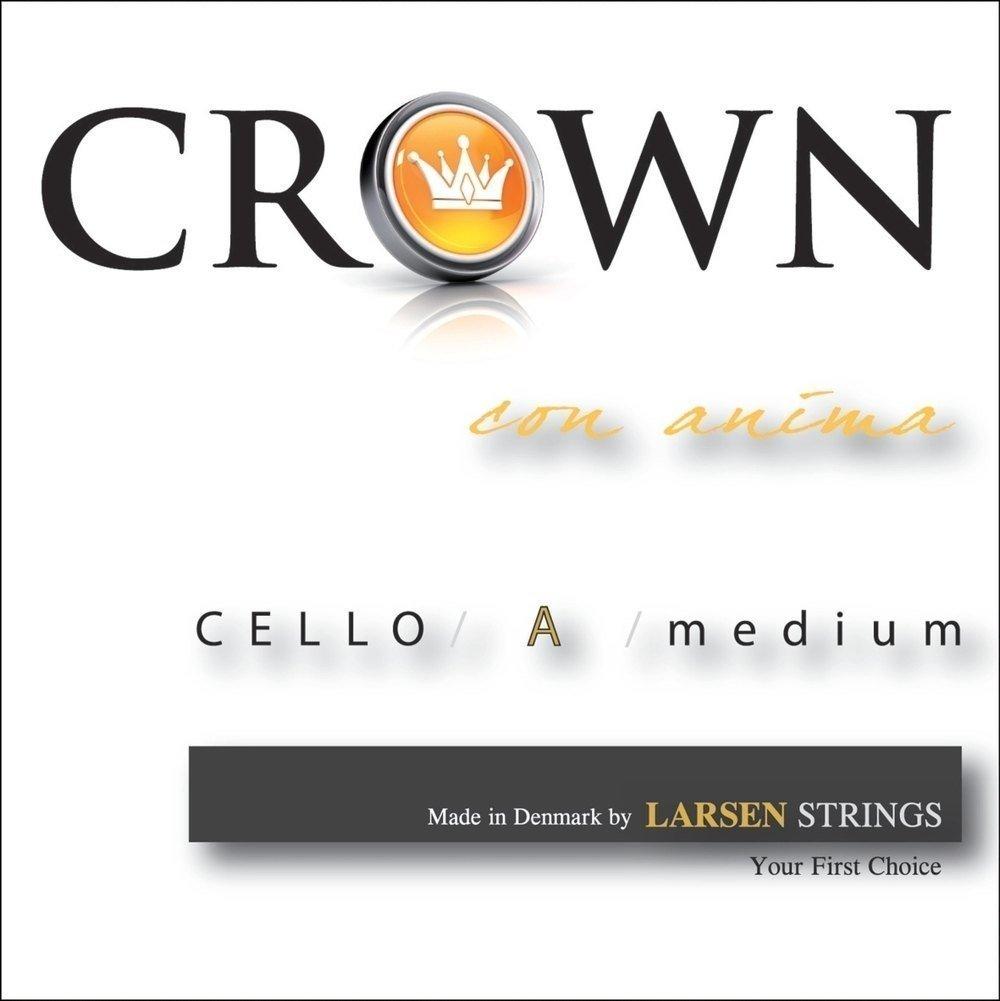 Crown Saite für Cello A Chromstahl 4/4