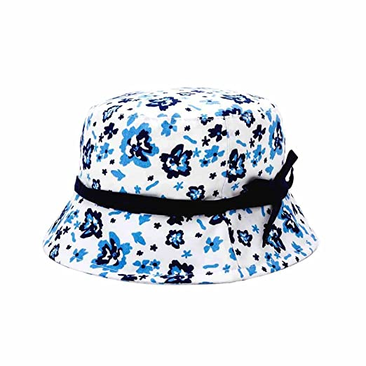 a8327d26bf6e4 Amazon.com  Q Y YQ Baby Girls  Floral Bucket Hats Floppy Caps  Clothing