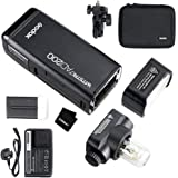 Godox AD200 TTL Pocket Flash Kit 2.4G Wireless 1/8000 HSS Camera Flash Strobe Speedlight for Canon Nikon Sony Olympus Panasonic Fujifilm Cameras