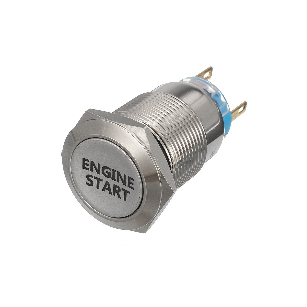 Engine Start Button Push Switch Ignition Car Automotive Converting Fro Key To Toggle And Red Led Metal 12v 3 4
