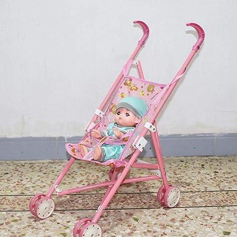 KESOTO Mini Carrito de Plástico Push-Car para Mellchan Doll Kids Toy - b