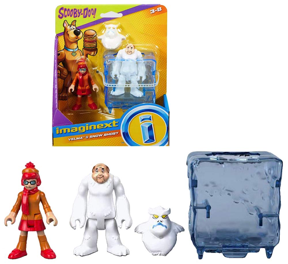 Doo Figure 2.5 Imaginext Velma /& Snow Ghost Scooby