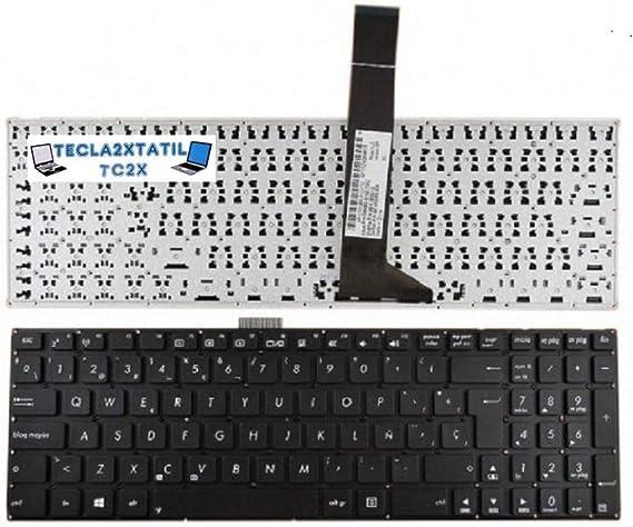 Teclado para PORTATIL ASUS f552l EN ESPAÑOL Nuevo Keyboard SP