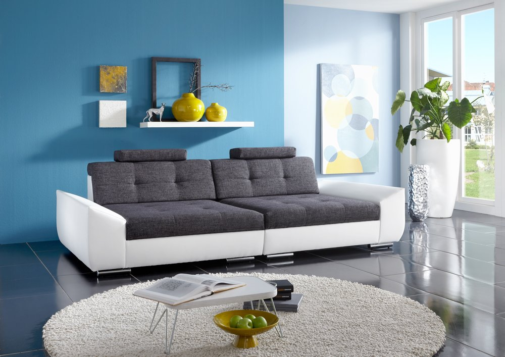 Big Sofa Alpha – Made in Germany – Freie Stoff und Farbwahl ohne Aufpreis aus unserem Sortiment (ausser Echtleder). Nahezu jedes Sondermaß möglich! Sprechen Sie uns an. Info unter 05226-9845045 oder info@highlight-polstermoebel.de