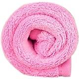 Culater® Chiot Chien Chat TapisDoux Couverture Polaire Pad lit Couette Coussin 38*58CM (Rose)