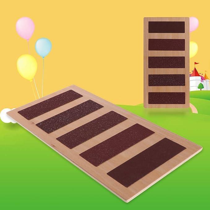 SimpleLife Juguete Educativo Montessori, Juguete de Madera del niño de la muñeca de la Cuenta para el Aprendizaje Preescolar: Amazon.es: Hogar
