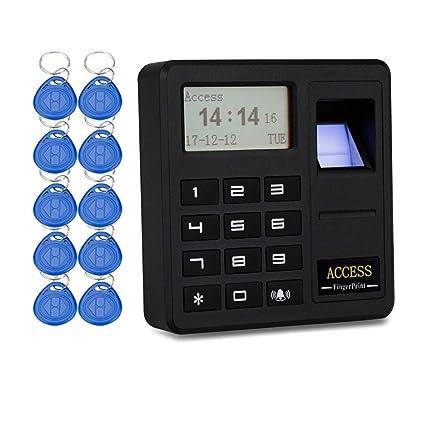 YAVIS Sistema de control de acceso por huella digital Teclado ...