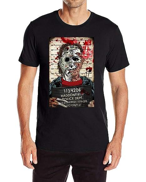 wishcart michael myers vs jason men s casual short sleeve graphic tee shirts amazon com