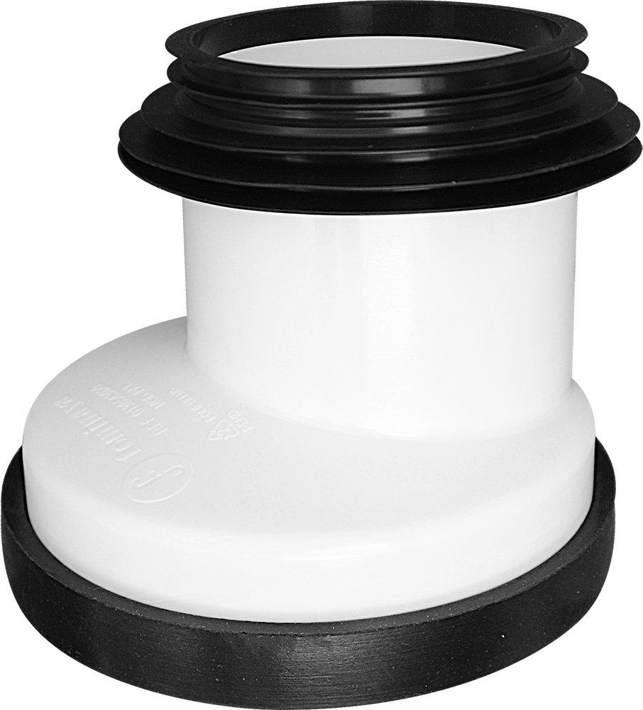 Fominaya 0138543020 Manguito de conexi/ón para Inodoro Polietileno y Caucho di/ámetro 90-110 mm