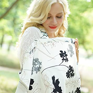 Mother & Kids Strollers Accessories Trustful Feathers Baby Infant Breathable Cotton Breastfeeding Nursing Cloth Cover