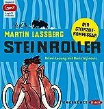 Steinroller. Der Steinzeit-Kommissar: Ungekürzte Lesung mit Boris Aljinovic (1 mp3-CD)