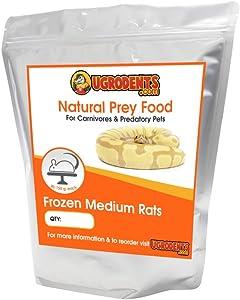 UGRodents 10-Pack Frozen Medium Rats
