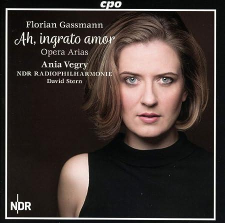 Ania Vegry, NDR Radiophilharmonie, Florian Gassmann, David Stern - Ah  Ingrato Amor - Amazon.com Music