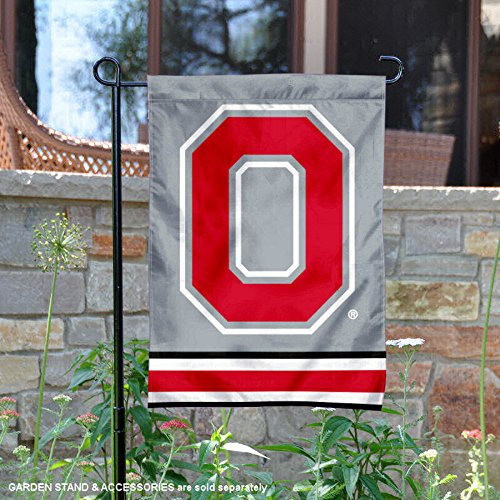 OSU Buckeyes Ohio State Garden Flag and Yard Banner