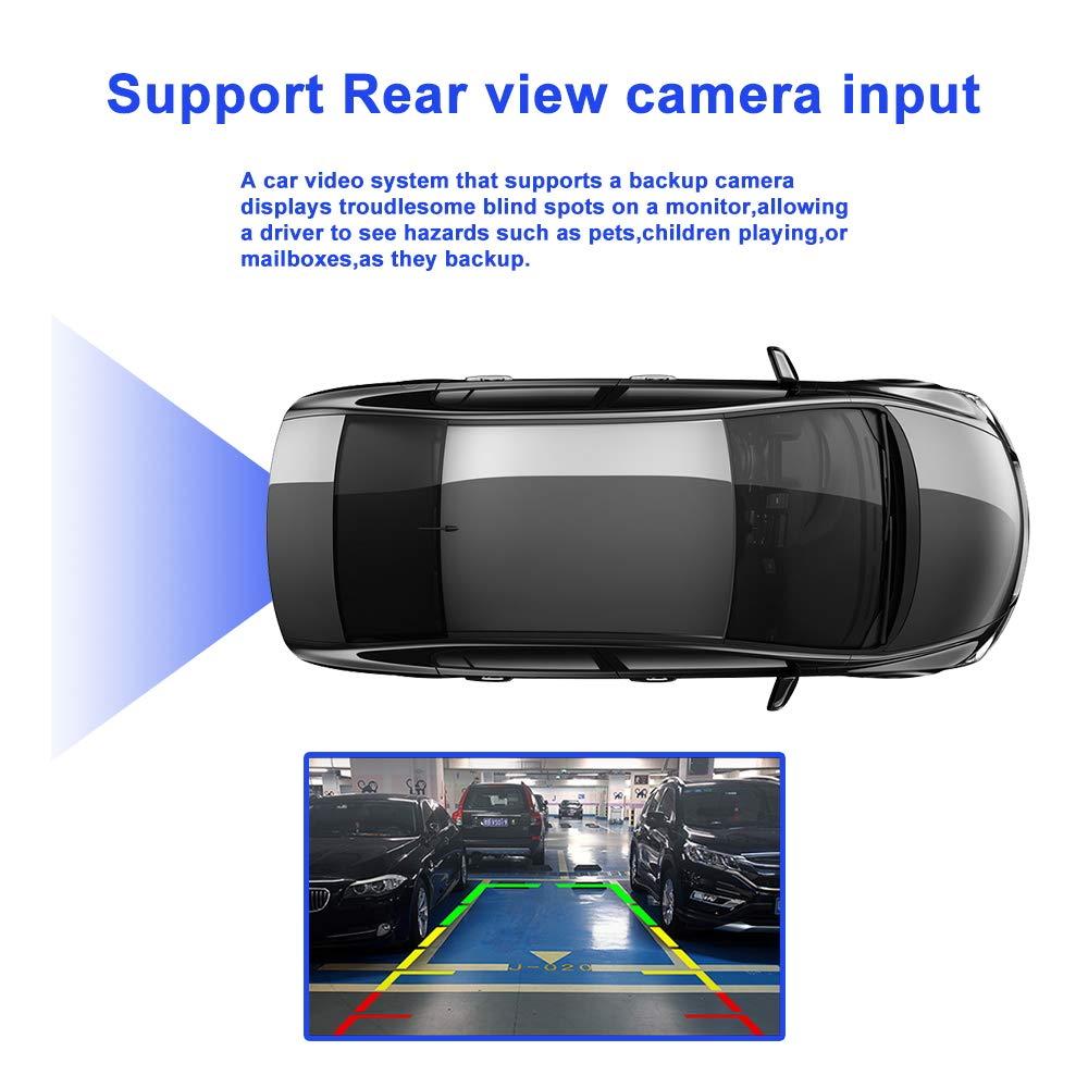 """ZLTOOPAI para Mercedes Benz W209 W203 W163 W163 Viano W639 Vito Series Vaneo Doble Unidad de Cabeza DIN 7/""""Pantalla Radio para Auto GPS Est/éreo con Tarjeta de Mapa Gratis c/ámara de Vista Trasera"""