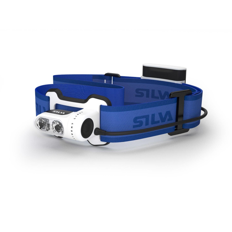 Silva Run Waterproof Outdoor Performance Running LED Head Torch - Blue, All Sizes