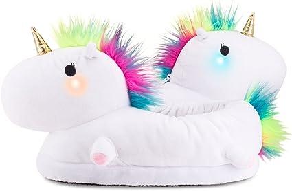 Light-Up Unicorn Slippers for Kids