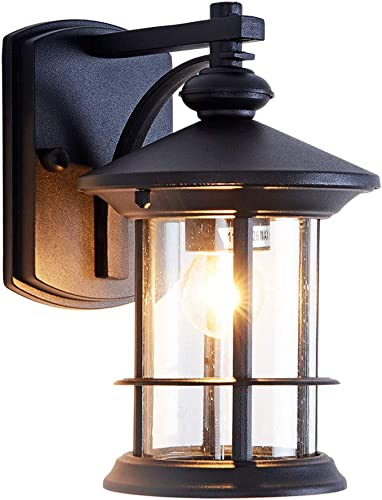 Rustic Small Outdoor Wall Light Fixture