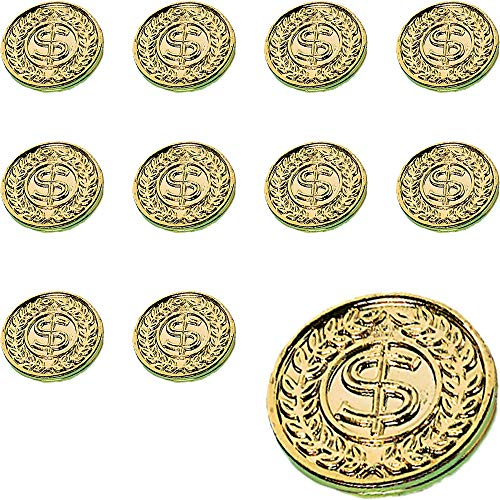 Amscan St. Patrick's Day Plastic Gold Coins Mega Value Pack, 400 Ct. | Party Favor]()