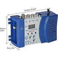 Fesjoy Modulador de RF, AC230V Modulador compacto de RF Audio Video TV Convertidor RHF UHF Amplificador de señal