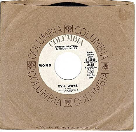 carlos santana buddy miles evil ways nm 45 rpm amazon com music