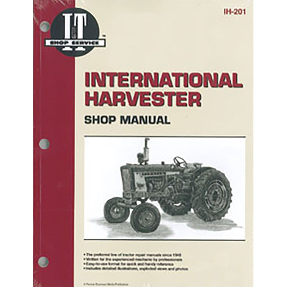 Amazon.com: SMIH201 New Shop Manual Made for Case-IH Tractor Models 100 130  2404 2424 2444 +: Industrial & Scientific