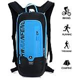 10L Kleiner Fahrradrucksack Trinkrucksack Wasserdicht Rucksäcke Reisetasche für Wandern, Klettern, Fahrradfahren, Fahrradrucksack. sowie Laufsport oder Camping Outdoor Sportrucksack Ultraleicht Fahrrad Rücksack von BLF