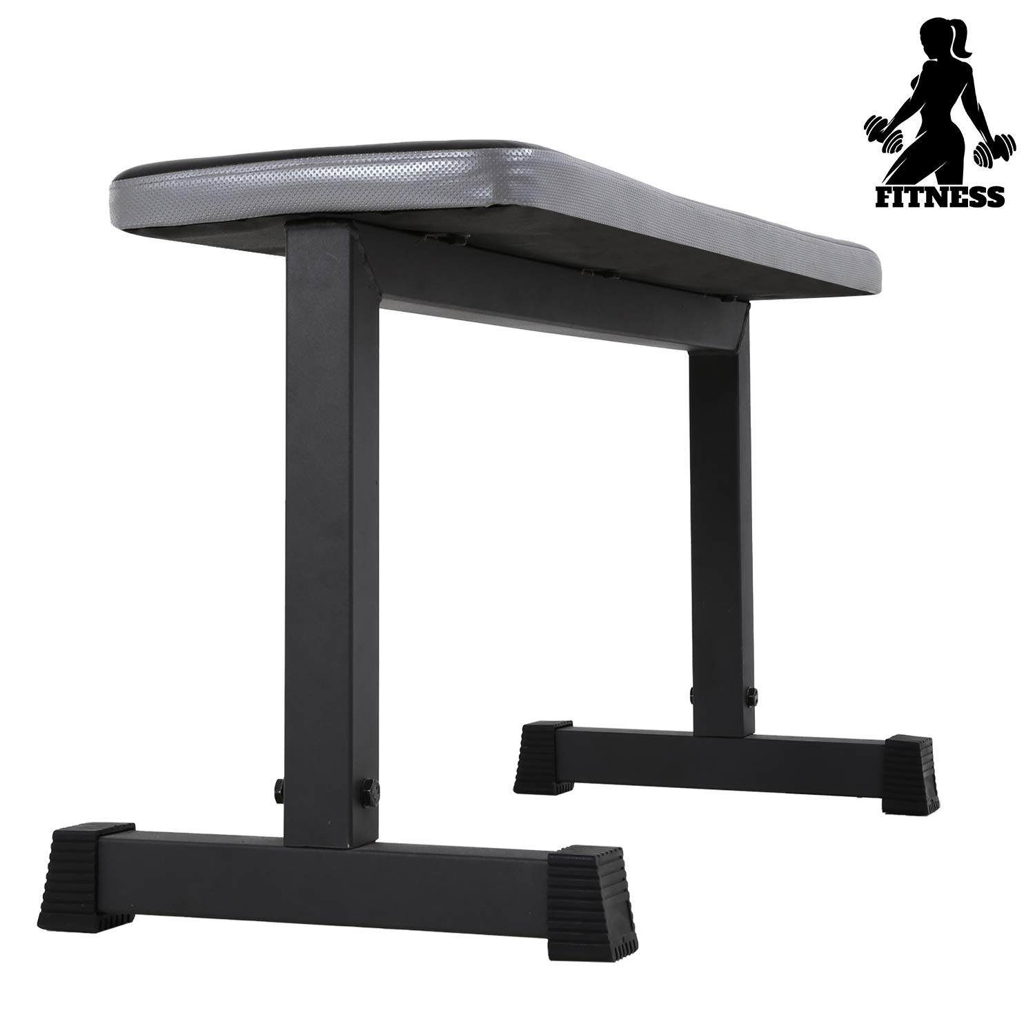 Flat Bench Workout Exercise Weightlifting Training Equipment Weight Bench for Home Gym Fitness,330lb Rated Capacity by FDW