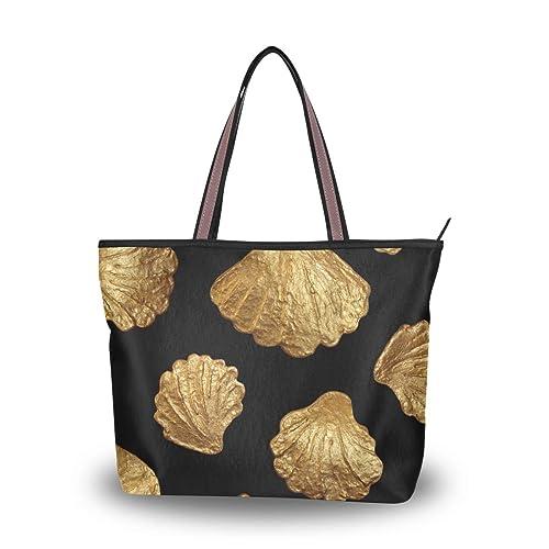 Amazon.com: Bolso bandolera con diseño de conchas marinas ...