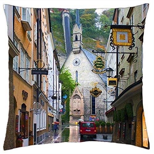 - Salzburg - Austria - Throw Pillow Cover Case (16