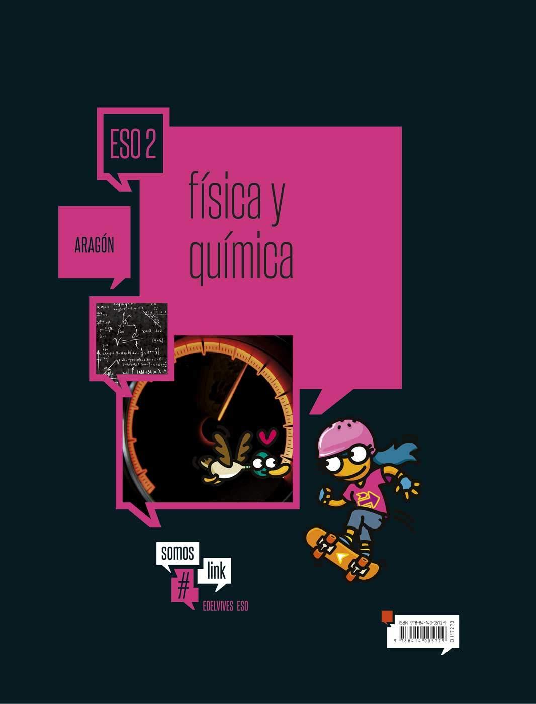 Física y Química 2ºESO-Aragón Somoslink - 9788414005729: Amazon.es ...